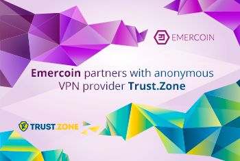 Trust.Zone will use Emercoin cryptocurrency for payments