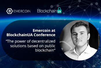 Emercoin at BlockchainUA Conference (full video)