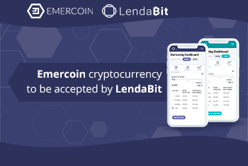 Emercoin cryptocurrency to be accepted by LendaBit.com