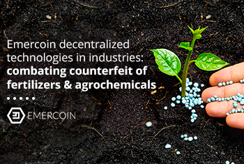 Blockchain empowers the agricultural industry to combat fertilizers & agrochemicals counterfeiting