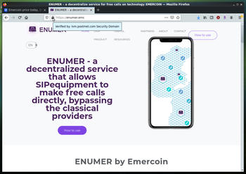 EmerDNS is the first blockchain-based alt-DNS, it supports https and SSL certificates!